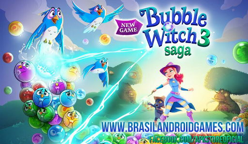 Download Bubble Witch 3 Saga v3.1.8 APK Full - Jogos Android