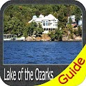 Lake of the Ozarks gps fishing