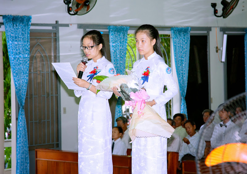 Giáo xứ Phú Phong: Thánh lễ lên đường các em vào đời 3