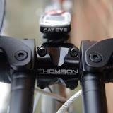 Thomson X4 Stem + CatEye Velo 8