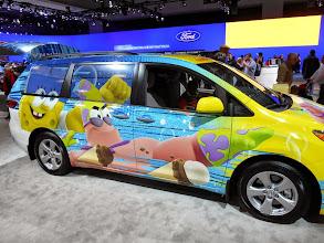 Photo: The Spongebob Squarepants van.
