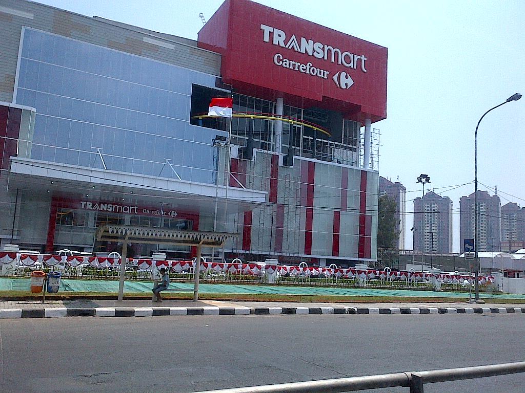 Transmart Carrefour Cempaka Putih Jakarta Pusat Indonesia