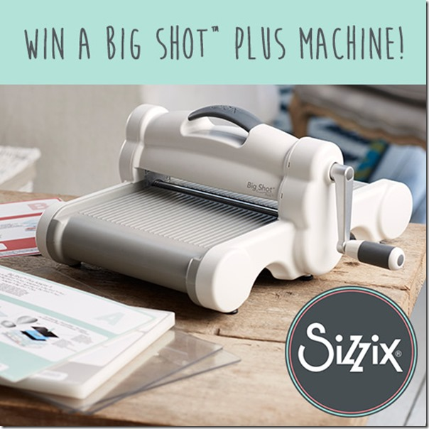 vinci big shot PLUS-giveaway