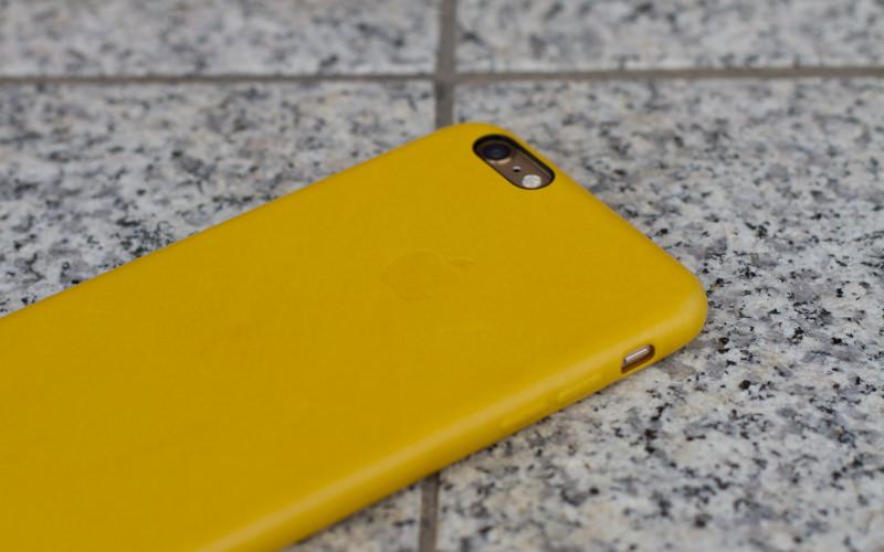 Appleiphone6plusLeathercasemarigold IMG 0597