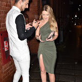 OIC - ENTSIMAGES.COM - Junaid Ahmed and Abi Thorpe at the    Canalot Studios London 23rd January 2016 Photo Mobis Photos/OIC 0203 174 1069