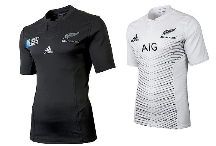 8135deba382 Adidas has released both home and away kits for New Zealand rugby team  going into the big Rugby world cup 2015. And they are priced around NZ 200    US 140.