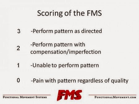 FMS 評分標準