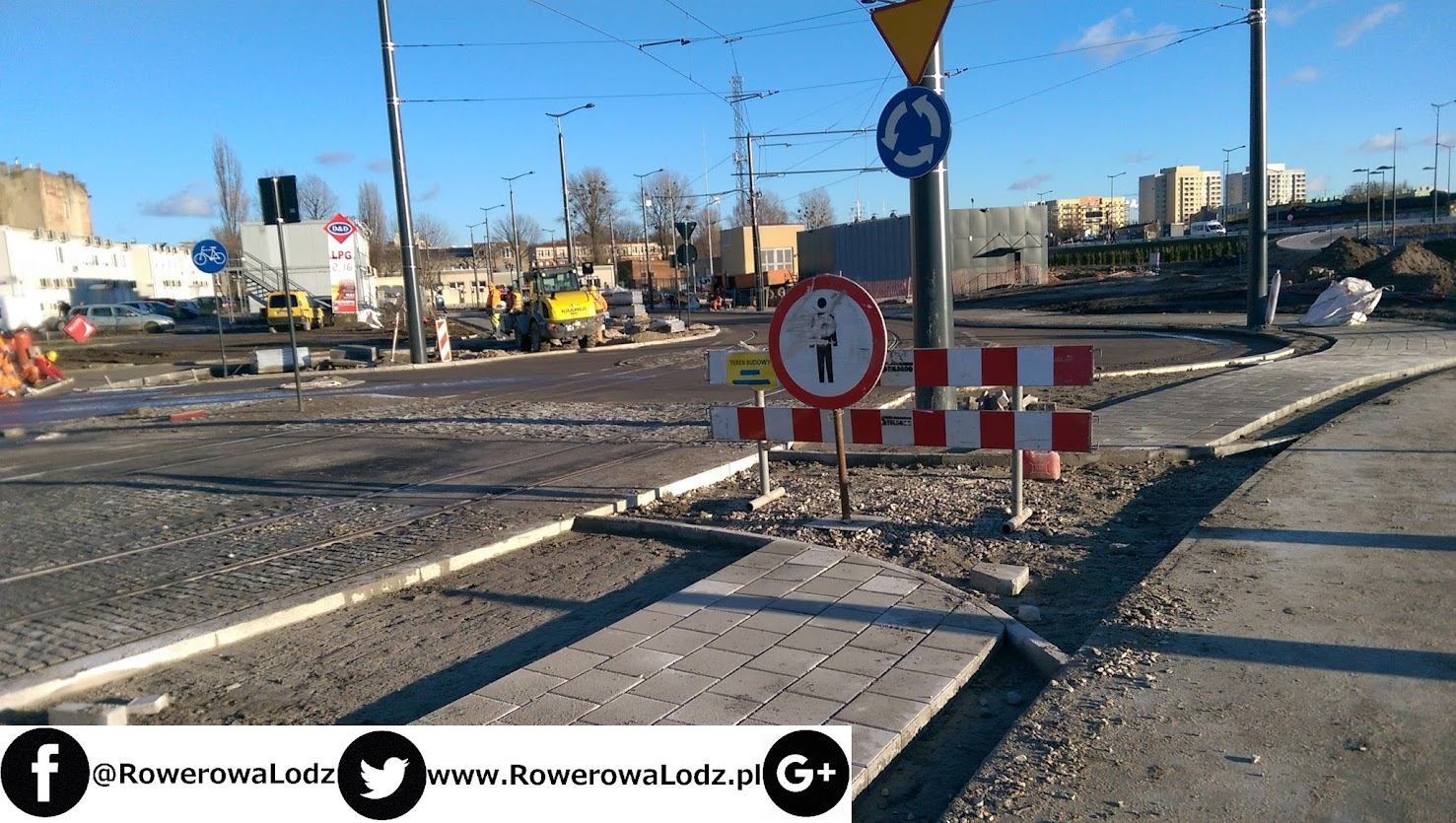 Droga dla rowerów przy ul. Węglowej nadal nieukończona