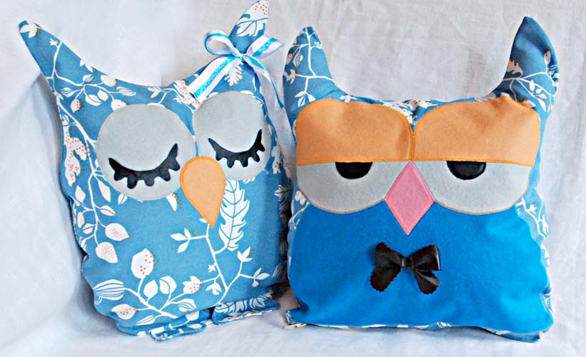 Подушки игрушки совы своими руками