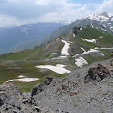 Monts Hissar, Anzob Pass, 3430 m. 27 juillet 2009. Biotope de Paralasa hades TUZOV, 1993. Photo : J.-F. Charmeux