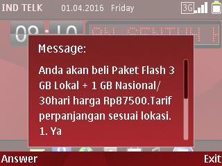 Paket data murah telkomsel tanpa pembagian kuota siang/malam 4GB  3gb lokal+1Gb nasional mulai 70ribu