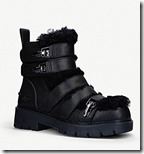 UGG Leather and Sheepskin Lined Boots