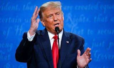 Trump reconhece rabinos que agradeceram a ele