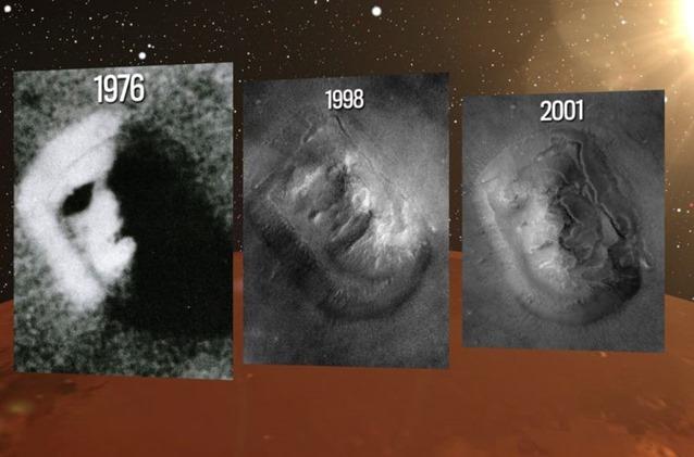 civilizações extraterrestr em Marte 04