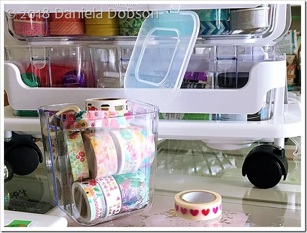 Caddy organizer washi 6 by Daniela Dobson