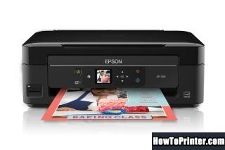 Reset Epson XP-208 printer with Epson resetter