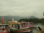 The port of Paraty in the morning