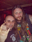 With Ben Ward from ORANGE GOBLIN
