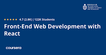 best Coursera course for frontend development using React