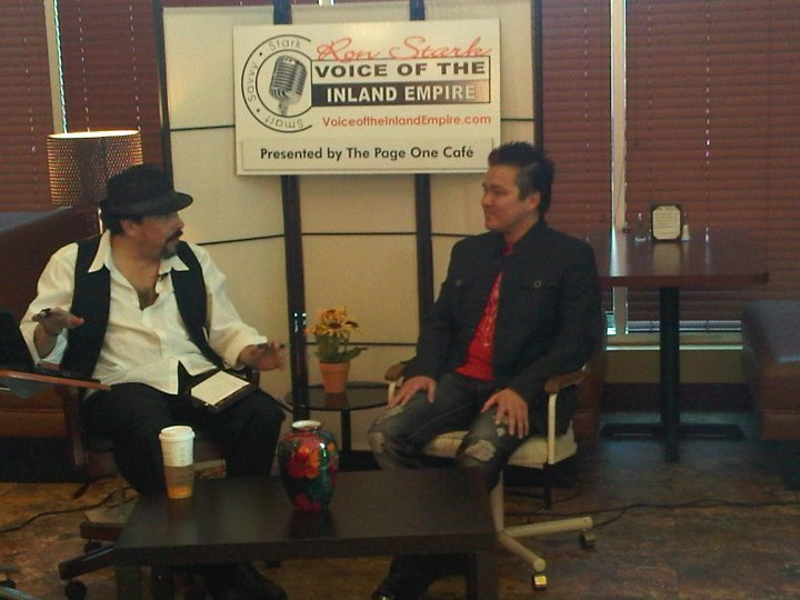Jt Tran Pua Being Interviewed On Voice Of The Inland Empire, Asian Playboy
