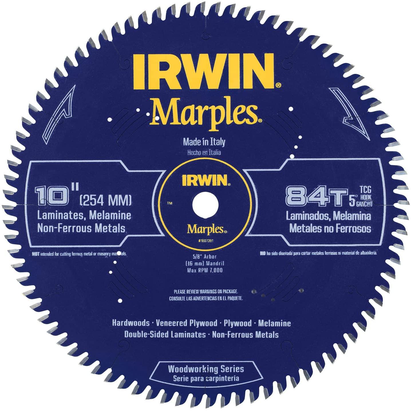 IRWIN Marples 10-Inch Triple Grind Saw Blade