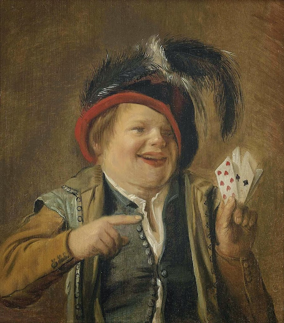 Judith Leyster - A card player