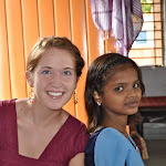 Teaching the Students of Apne Aap's KGBV Girls Hostel and School, by Intern, Morgan Metcalf