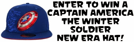 Click Here To Enter To Win A Captain America: The Winter Soldier New Era Hat