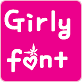 Girly Fonts for FlipFont