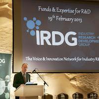 Funds & Expertise for R&D, Dublin Feb 2013