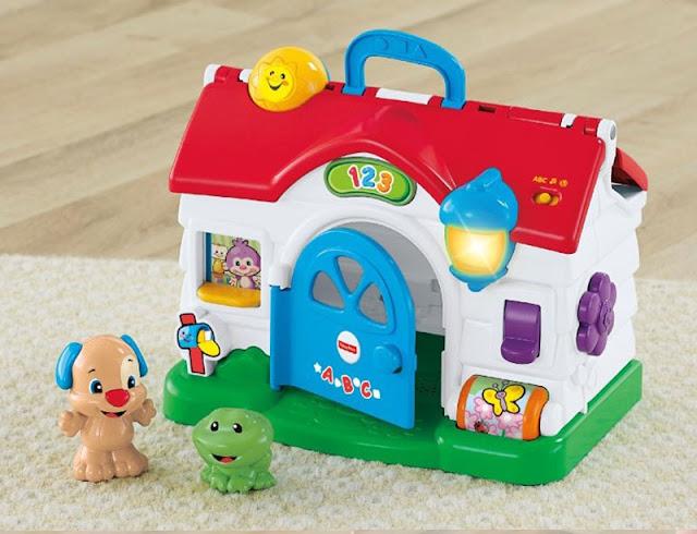 Ngôi nhà thông minh Fisher Price Puppy's Activity Home đáng yêu
