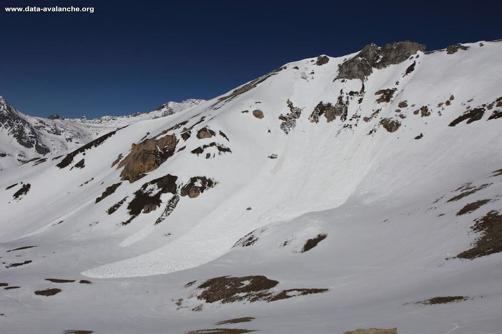 Avalanche Vanoise, secteur Dent Parrachée, Pointe de Bellecôte - Col des Hauts - Photo 1