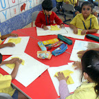 Origami Activity Done by Jr.Kg 2012-13