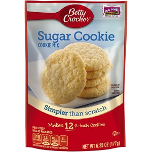 betty crocker sugar cookie