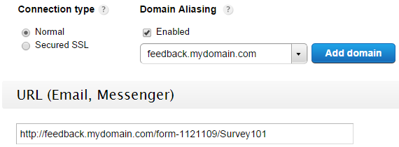 Domain Aliasing