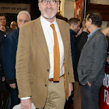 WWW.ENTSIMAGES.COM -  Larry Lamb   arriving  at      The Scottsboro Boys - press night at Garrick Theatre, Charing Cross Road, London October 20th 2014Kander and Ebb's provocative musical about the true story of nine young black men falsely accused of raping two white women.                                                   Photo Mobis Photos/OIC 0203 174 1069