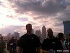 Dramatic post-race sky!