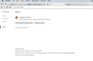 Chrome wont update on mac google product forums ive tried going to chrome help and there is no option there to update or a spinning wheel im attaching the image to my reply ccuart Choice Image