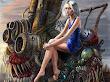 Girl On Iron Monster