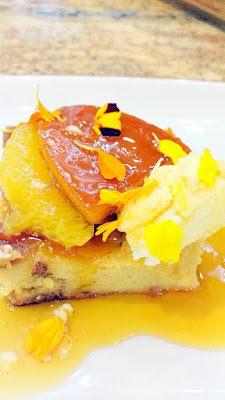 Jackie's recipe for Pain Perdu with Confit Orange