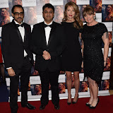 OIC - ENTSIMAGES.COM - Ashwath Bhatt, Director Rajan Kumar Patel, Holly Gilbert  and Producer Caroline O'Reilly at the  : Feast of Varanasi  UK film premiere during the London Asian Film Festival 5th March 2016 Photo Mobis Photos/OIC 0203 174 1069
