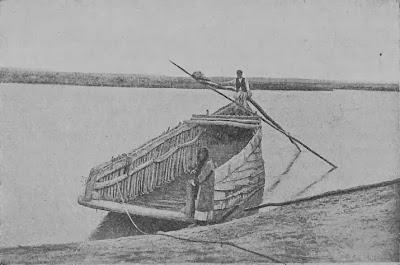 Судно на Евфрате у Тель-Амара