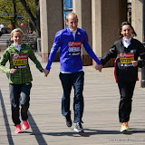OIC - ENTSIMAGES.COM - Sonia Samuels, Scott Overall and Emma Stepto at the Virgin London Marathon Photo Call for  British Contenders in London 23rd April 2015 Photo Mobis Photos/OIC 0203 174 1069