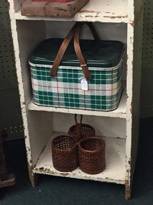 Green, Picnic Basket, Plaid
