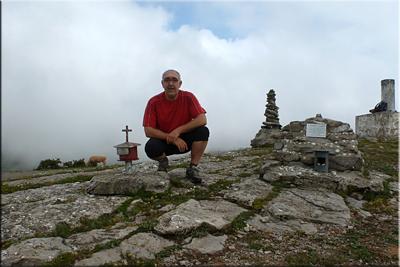Oteros mendiaren gailurra 1.036 m. – 2016ko ekainaren 4an