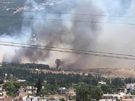 Φωτιά τώρα στην Πάτρα : Εκκενώνεται το Σούλι - Καίγονται σπίτια