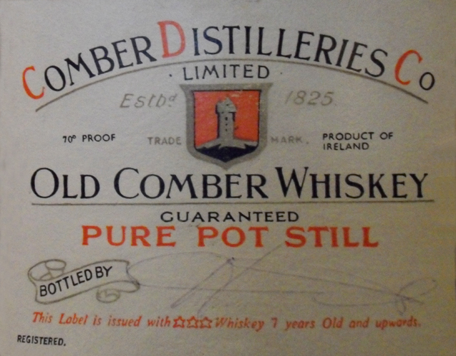 Comber Whiskey Label Pic LR