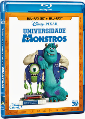 Filme Poster Universidade Monstros BDRip XviD Dual Audio & RMVB Dublado