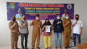 Mantap, 278 KPM Bantuan Langsung Tunai Dana Desa (BLT-DD) Di Desa Pisangan Jaya Tersalurkan Lagi