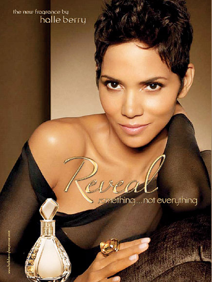 HOT ACTRESS HALLE BERRY FAMOUS PERFUME